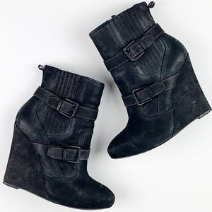 Joie Love Me Two Times Ankle Wedge Boot